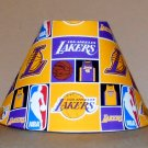 LA LAKERS LOS ANGELES fabric lamp shade lampshade NBA FOOTBALL SPORTS 6459