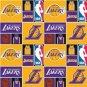 LA LAKERS LOS ANGELES fabric lamp shade lampshade NBA FOOTBALL SPORTS 6459