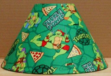 Teenage Mutant Ninja Turtles fabric Lamp Shade Lampshade Raphael Pizza 469