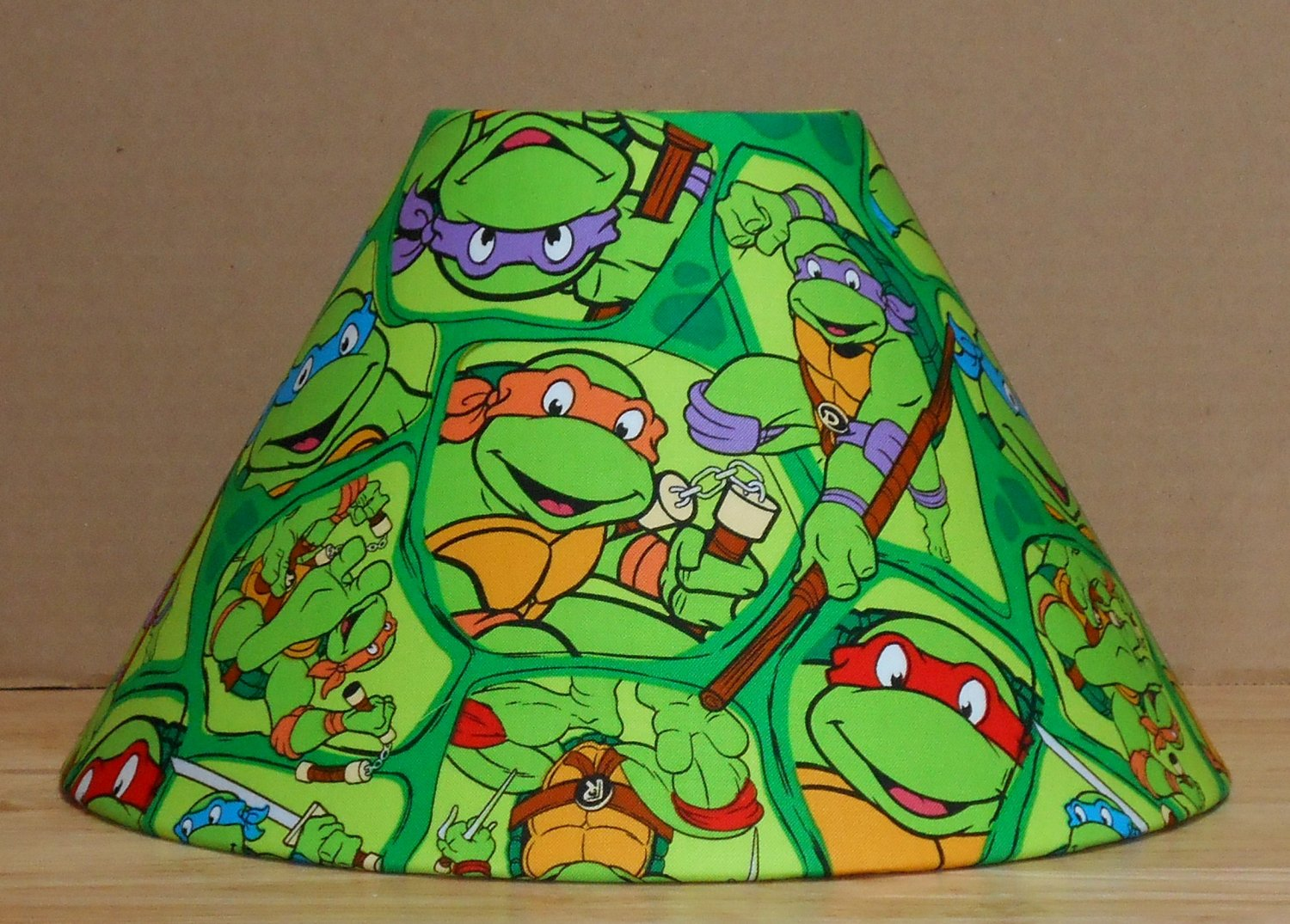 Teenage Mutant Ninja Turtles Fabric Lamp Shade Lampshade