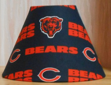 Chicago Bears FABRIC LAMP SHADE lampshade SPORTS NFL FOOTBALL Handmade DESK TABLE