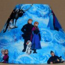 Disney Frozen Kristoff Anna & Olaf fabric Lamp Shade Lampshade 4x6.5x9