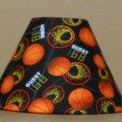 BASKETBALL FABRIC LAMP SHADE lampshade SPORTS Handmade Desk Table Mult color