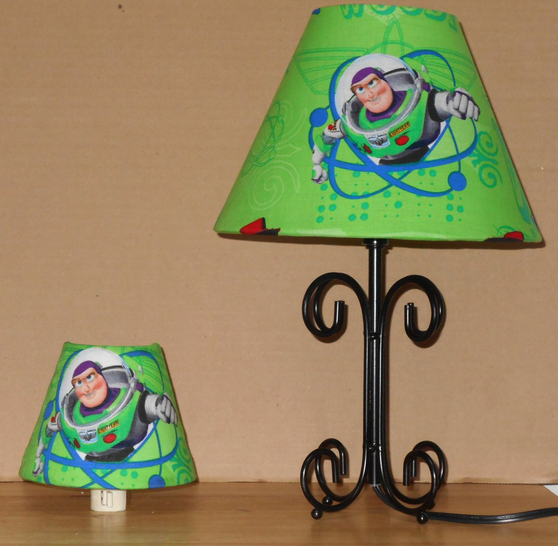 Toy Story Buzz Lightyear Fabric Lampshade Lamp Shade 6459:,Lighting