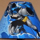 Batman fabric Lamp Shade Lampshade CHARACTER SUPER HERO SHADES OF BLUE OOP