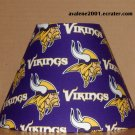 MINNESOTA VIKINGS FABRIC LAMP SHADE lampshade NFL FOOTBALL SPORTS NFC Handmade DESK TABLE