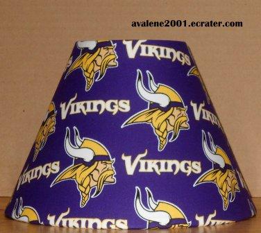 MINNESOTA VIKINGS FABRIC LAMP SHADE lampshade NFL FOOTBALL SPORTS NFC Handmade DESK TABLE