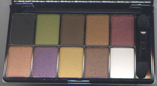 NYX Runway Collection 10 Eyeshadow Pallet -#2 Strike A Pose