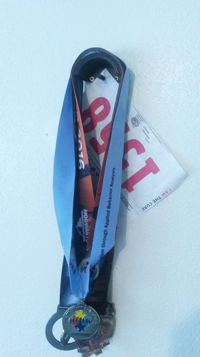 Small Simple Race Medal Holder and Race Bib Holder