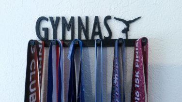 Gymnastics Gymnast Sports Medal Display Medal Rack Medal Holder Medal Hanger