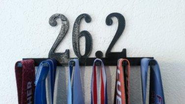 26.2 Marathon Medal Display Medal Rack Medal Holder Running Medal Hanger
