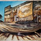 Bagamoyo Prison Ruins Oil on Canvas