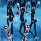 Tanzanian Dancing Oil on Canvas