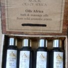 African Bath or Massage Oils