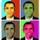 Barack Obama Giclee on Canvas
