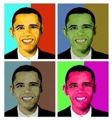 Barack Obama Giclee on Canvas