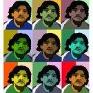 Diego Maradona Giclee on Canvas