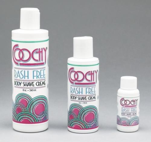 Coochy Rash Free Shave Creme: Original 8 oz.