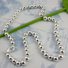 Elegant 925 sterling silver prayer beads Necklace NA022