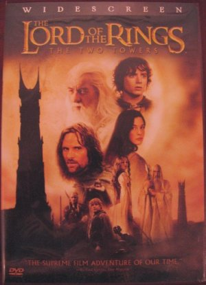 The Lord of the Rings: The Two Towers- LotR TTT widescreen dvd movie 2 discs