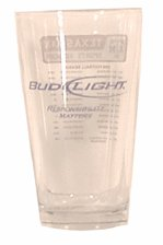 Bud Light Glass