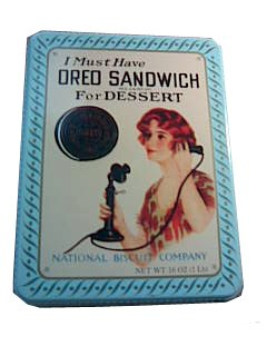 Nabisco 1986 Oreo Cookie Canister