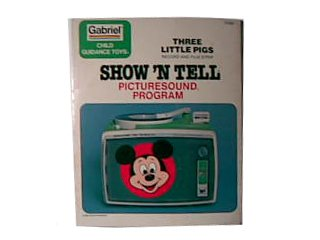 Show'n Tell Record - Three Little Pigs