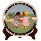 African Art Children Plate