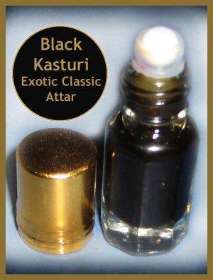 Black Musk / Black Kasturi Attar Perfume Oil 3ml