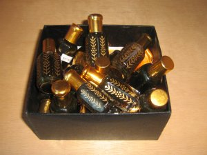 Black Musk / Black Kasturi Attar Perfume Oil  12ml