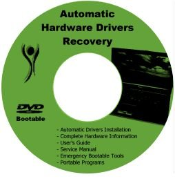 HP Pavilion dv8000 Drivers Restore Recovery PC CD/DVD