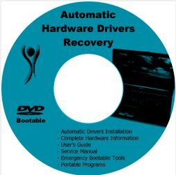 HP 550 Drivers Restore Recovery Software Disc CD/DVD