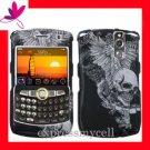 NEW Hard Case Cover Blackberry Curve 8350 8350i i SKULL