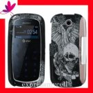 NEW Hard Case Cover Pantech Impact P7000 VINTAGE SKULL