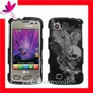 Hard Case Cover for LG SAMBA 8575 ~ VINTAGE SKULL