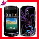 Hard Case Cover MOTOROLA CRUSH W835  ~  MIDNIGHT FLORAL