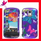 Hard Case Cover Skin Samsung Rogue U960 2D Butterfly