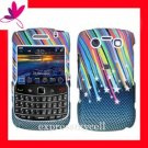 Case Cover for Blackberry Bold  9700 9780  Rainbow Star