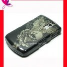 Case Cover Blackberry Curve 8300 8310 8320 8330 ~ WING SKULL
