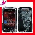 Hard Case Cover Blackberry STORM 2 9550 VINTAGE SKULL