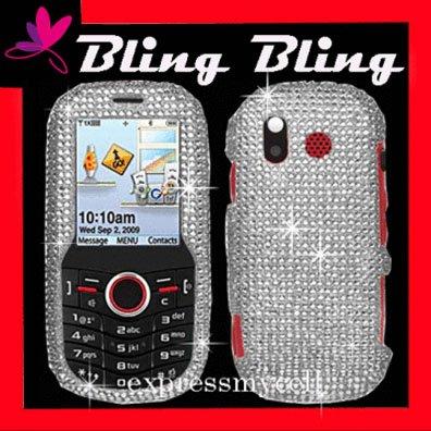 BLING Case Cover Samsung Intensity U450~ DIAMOND SILVER