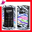New BLING BLING Case Cover for SANYO INCOGNITO 6760  ~ RAINBOW ZEBRA