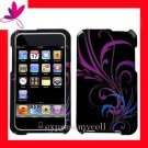 NEW PREMIUM HARD CASE for APPLE IPOD TOUCH 2ND 3RD GENERATION ~ MIDNIGHT FLORAL