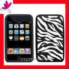 NEW PREMIUM GEL CASE for APPLE IPOD TOUCH 2ND 3RD GENERATION ~ COOL ZEBRA