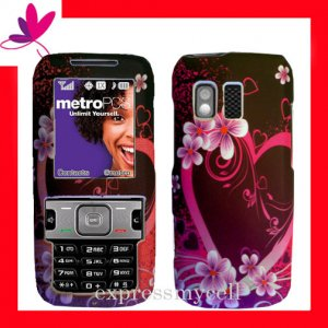 STRAIGHT TALK & NET 10 Premium RUBBERIZED COATING Case Cover Samsung