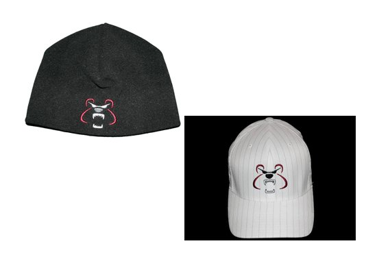 Black Beenie / White Hat Package