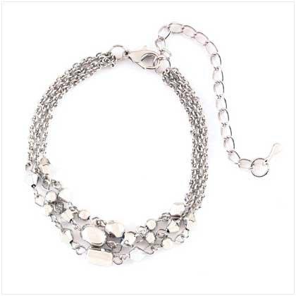 Silver Drop Bracelet