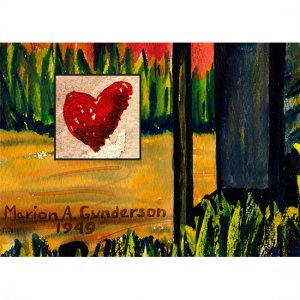 Red Heart: 6 Note Cards w/ Envelopes in Box