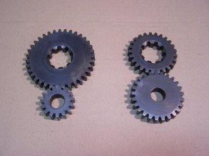 Gearset Upgrade 2 for Peerless 820 Transaxle; Mower Racing or Pulling
