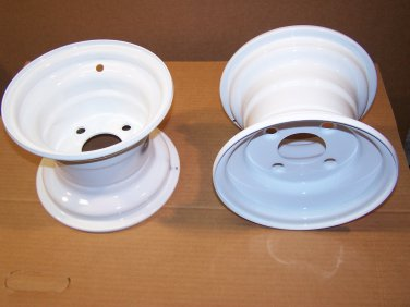 """New Offset 4-on-4 Wheels; 8"""" x 7""""; fit PermaGreen®, Deere, Others"""